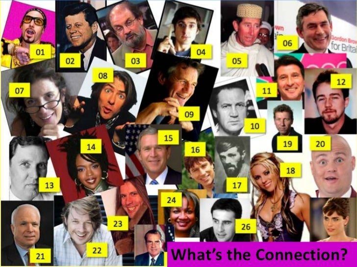 What's the Connection?