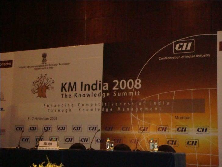 Knowledge Management Summit 2008 Snaps