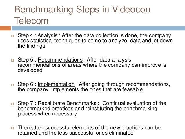 benchmarking steps