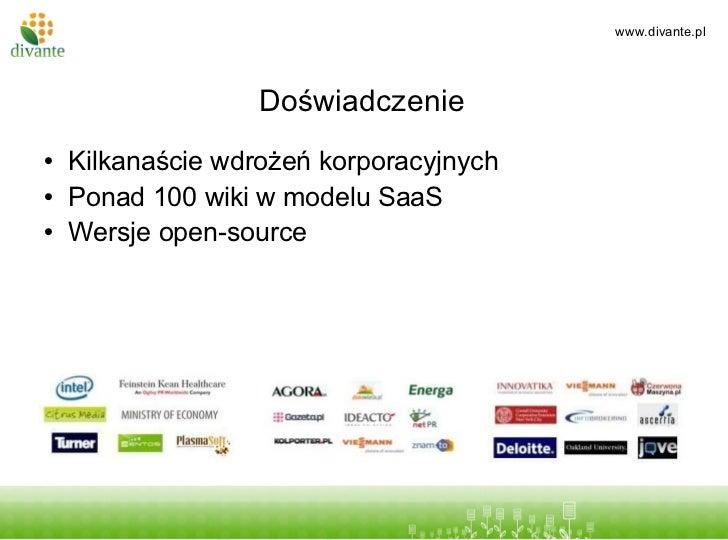 Wiki w firmie Slide 3