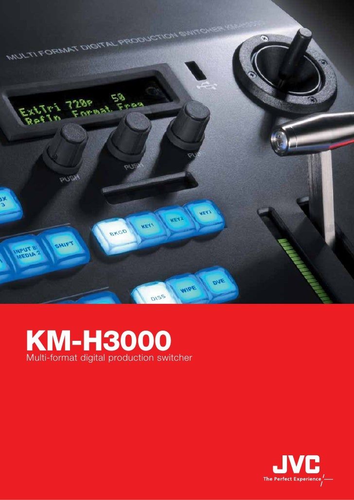 KM-H3000Multi-format digital production switcher