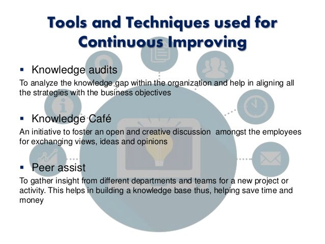 knowledge management tools and techniques pdf