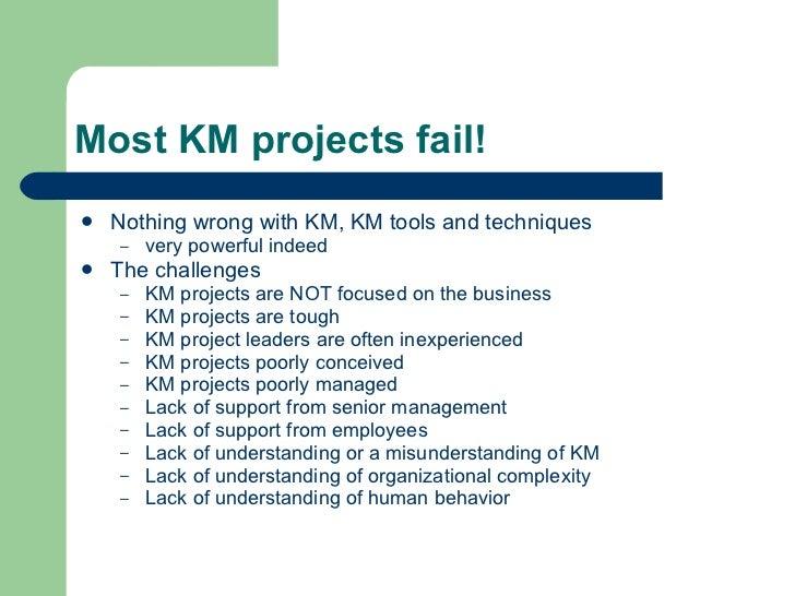 Don't do KM! Slide 3