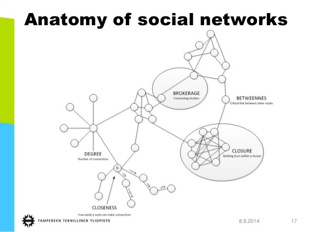 Anatomy of social networks  8.9.2014 17