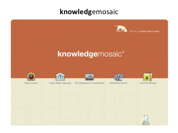 knowledgemosaic<br />