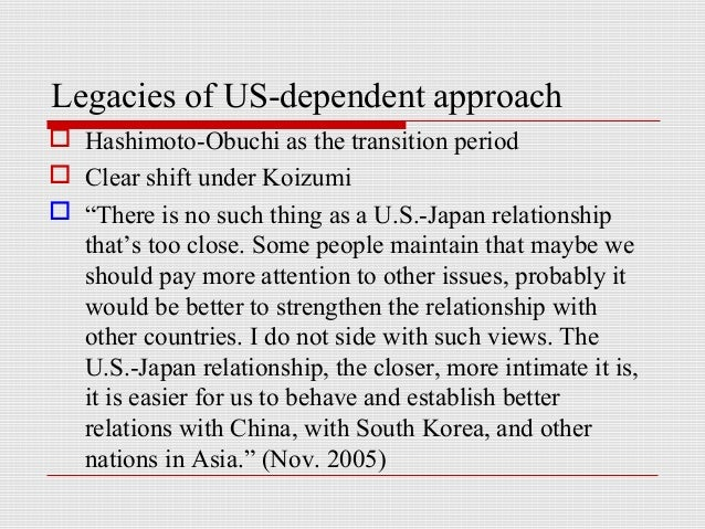 japans security policy and the u s 5 facts to help understand the us-japan relationship  only 37% view china as having a fair trade policy with the us  play a greater role in the region's.