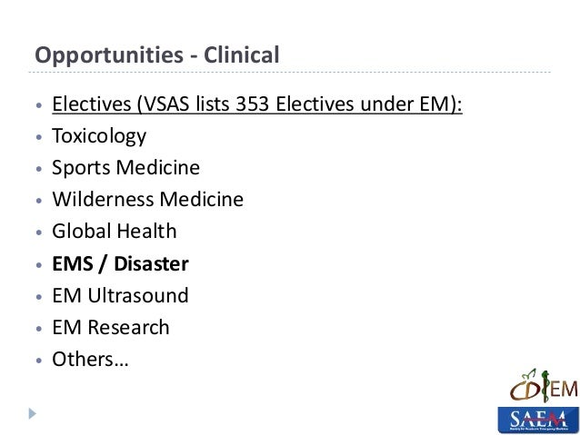 Emergency Medicine within all Four Years of Medical School