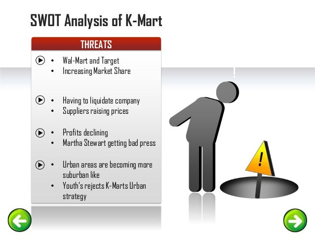 an analysis of k marts management Analysis gold forecasts  maybe k-marts have lost a lot of mass  i do know that wal marts have far better senior management, and k-mart went through a few bad.
