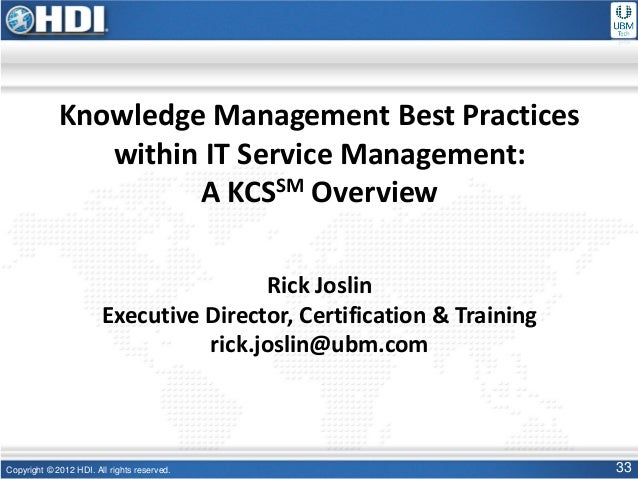 Determining the Organization s Knowledge and Know-how