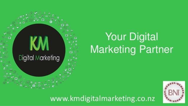 Fusion PowerPoint Presentation Your Digital Marketing Partner www.kmdigitalmarketing.co.nz