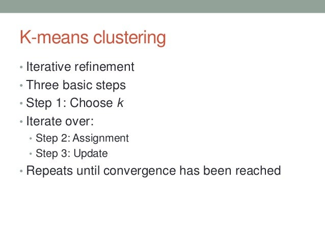 how to choose which k is better k-clustering