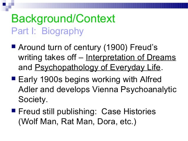 freud and breuer essay A revival of interest in the power of introspection and thought has brought freud's ideas a frustration of researching this essay breuer, freud's.