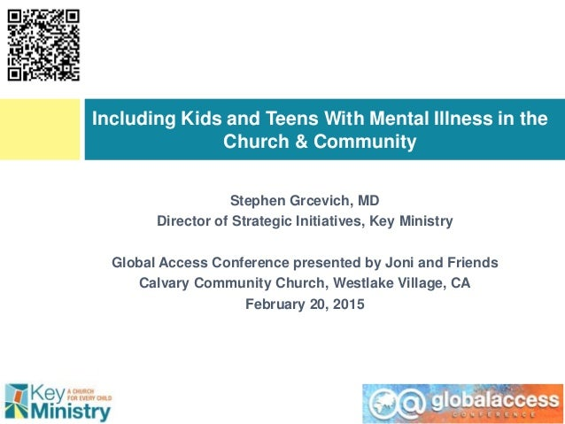 Stephen Grcevich, MD Director of Strategic Initiatives, Key Ministry Global Access Conference presented by Joni and Friend...