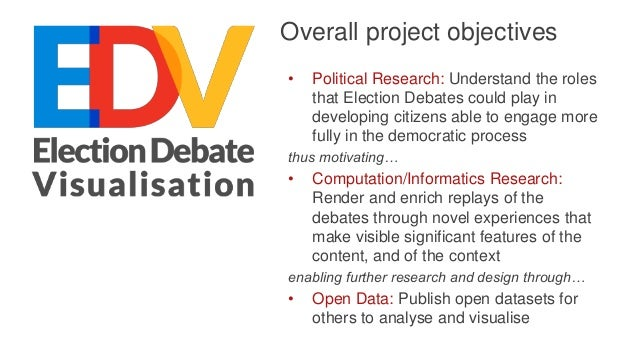 Qualitative research: citizens' perceptions of election debates 12 focus groups conducted at Leeds: • Disengaged Voters • ...