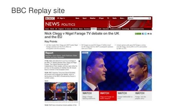 The Future of Election Debate Replays