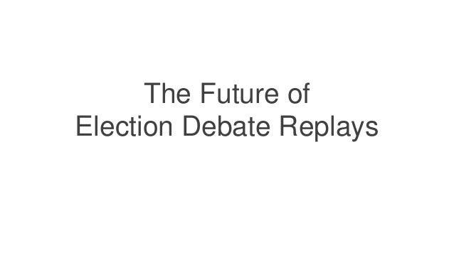 Computing & Informatics research objectives • Debate Analytics and Visualizations • Citizen Voice Channels • Debate Replay...