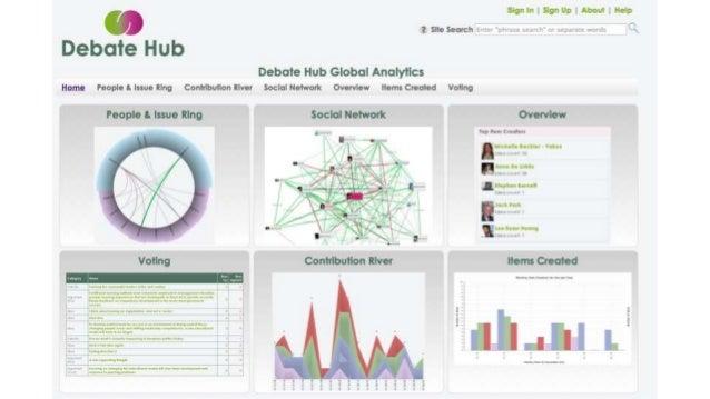 The Election Debate Visualisation Project - KMi Internal Seminar - 19 June 2014
