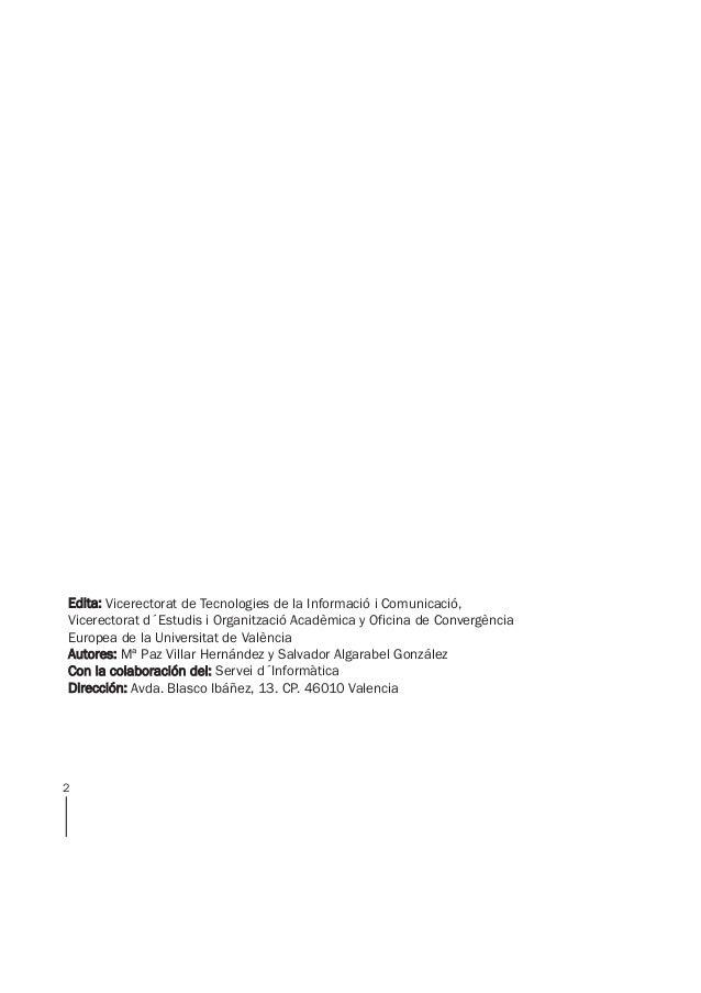 manual de uso de aula virtual uv Slide 2