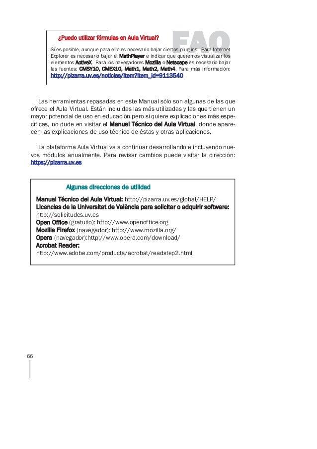 Manual de uso de aula virtual uv for Aula virtual fp valencia