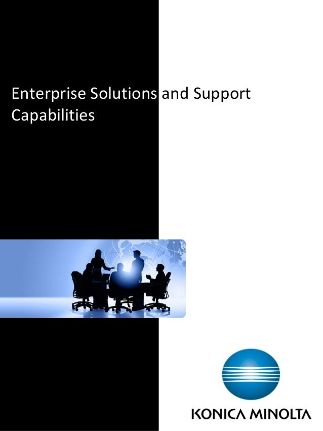Enterprise Solutions and Support Capabilities