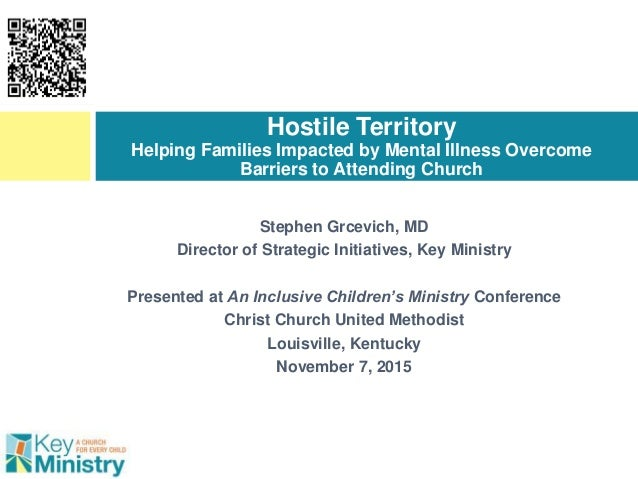 Stephen Grcevich, MD Director of Strategic Initiatives, Key Ministry Presented at An Inclusive Children's Ministry Confere...