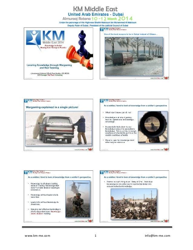 www.km-‐me.com                                                       ...