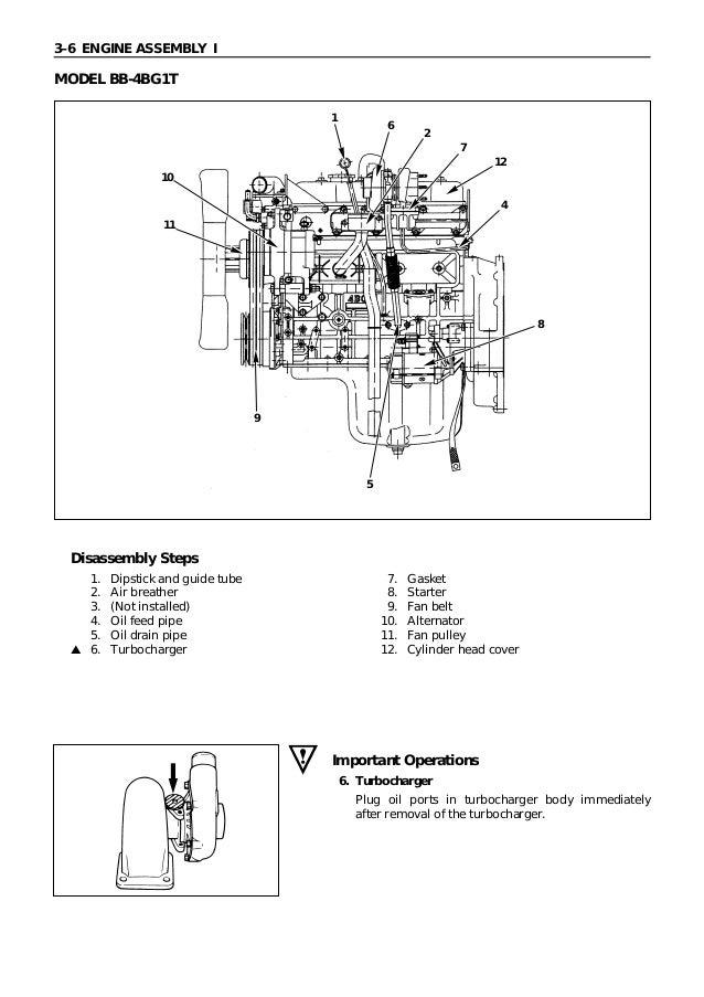 k motor isuzu manual de servicio 4 Cylinder Isuzu Diesel Engine