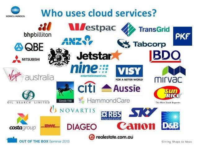 Demystifying the Cloud - Symantec, Konica Minolta Slide 2