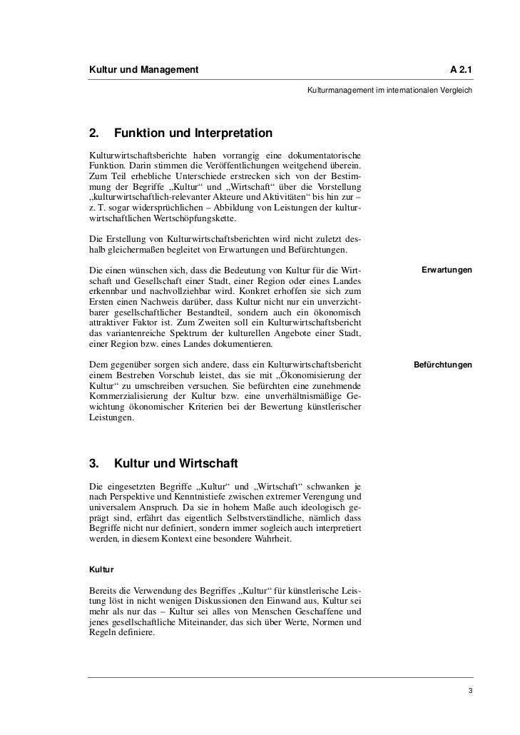 Kultur und Management                                                                         A 2.1                       ...