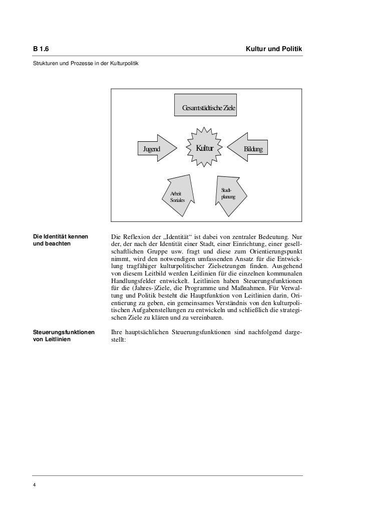 B 1.6                                                                                   Kultur und PolitikStrukturen und P...