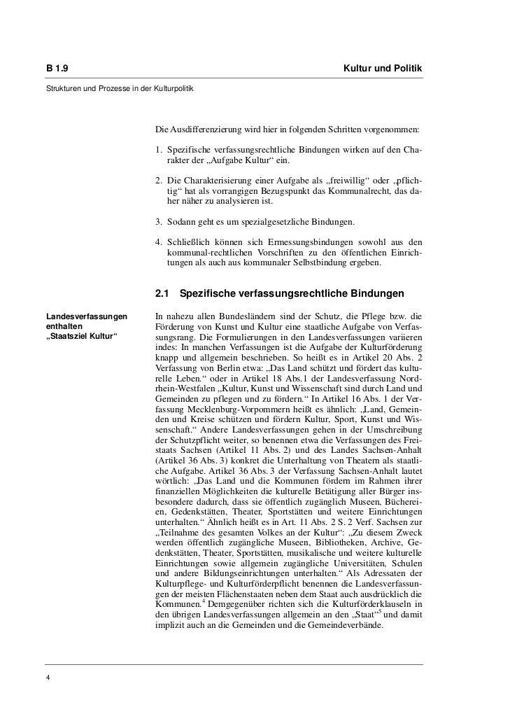 B 1.9                                                                             Kultur und PolitikStrukturen und Prozess...