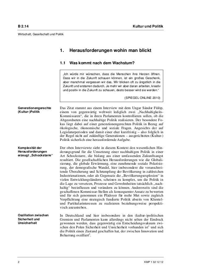 Dr. Patrick S. Föhl, Yvonne Pröbstle: Nachhaltige Entwicklung in Kulturpolitik und Kulturmanagement Slide 2