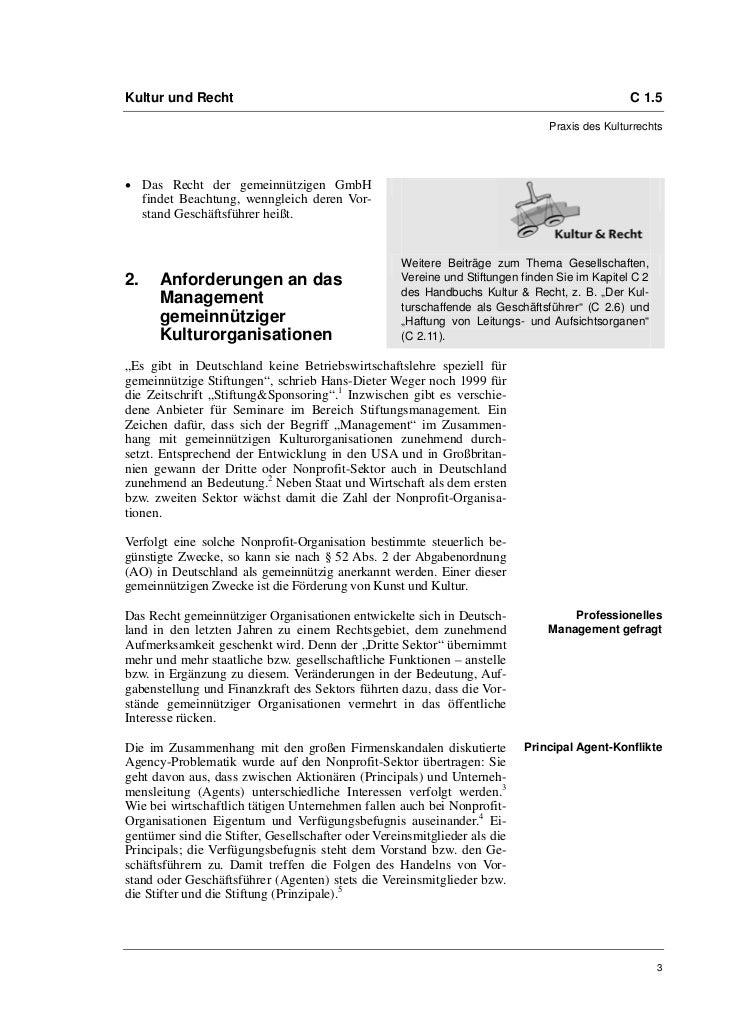 """Friederike Meyer-Plath: Professionelles Management """"trotz"""" Gemeinnützigkeit Slide 3"""