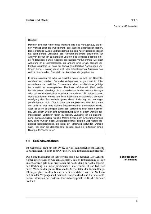 Oliver Boltze, Isabelle Herbert: Schlichtungsverfahren Slide 3