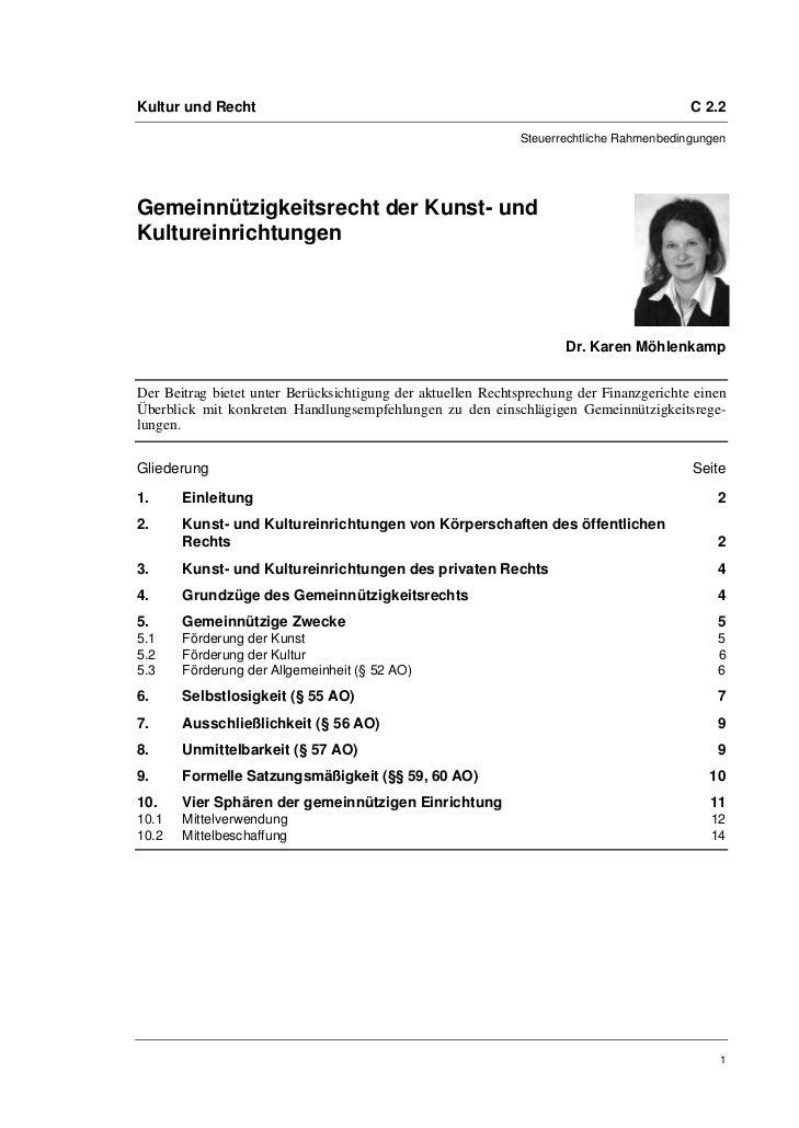 Kultur und Recht                                                                         C 2.2                            ...