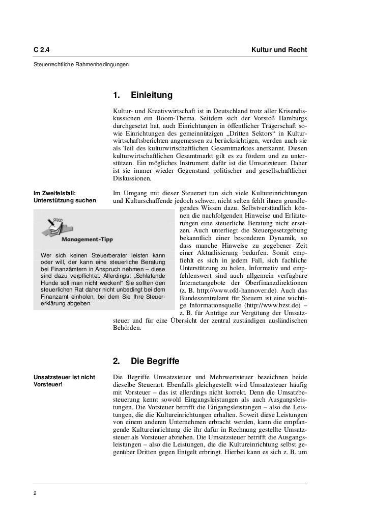 Prof. Dr. Friedrich Loock: Die Umsatzsteuer Slide 2