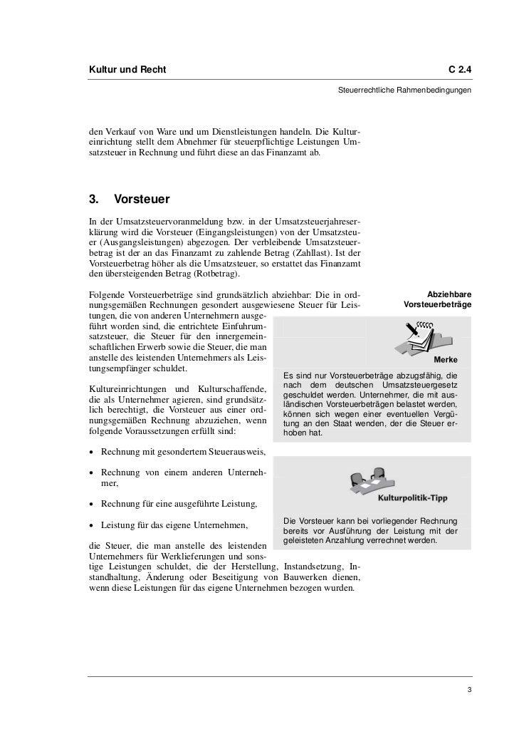 Prof. Dr. Friedrich Loock: Die Umsatzsteuer Slide 3