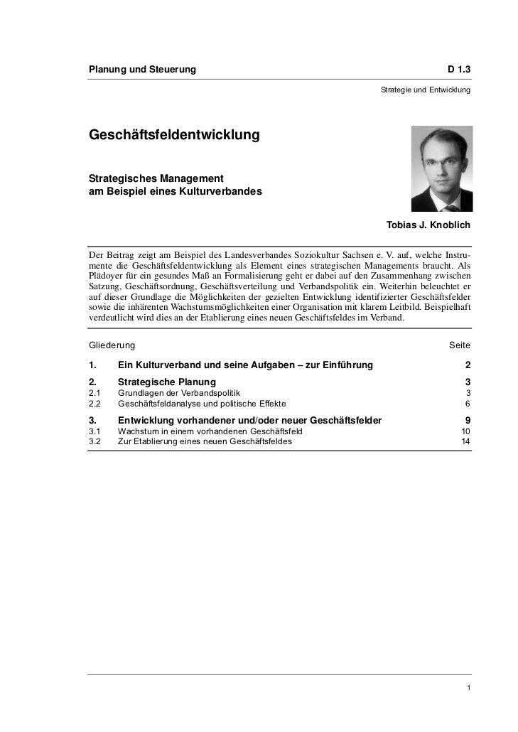 Planung und Steuerung                                                                      D 1.3                          ...