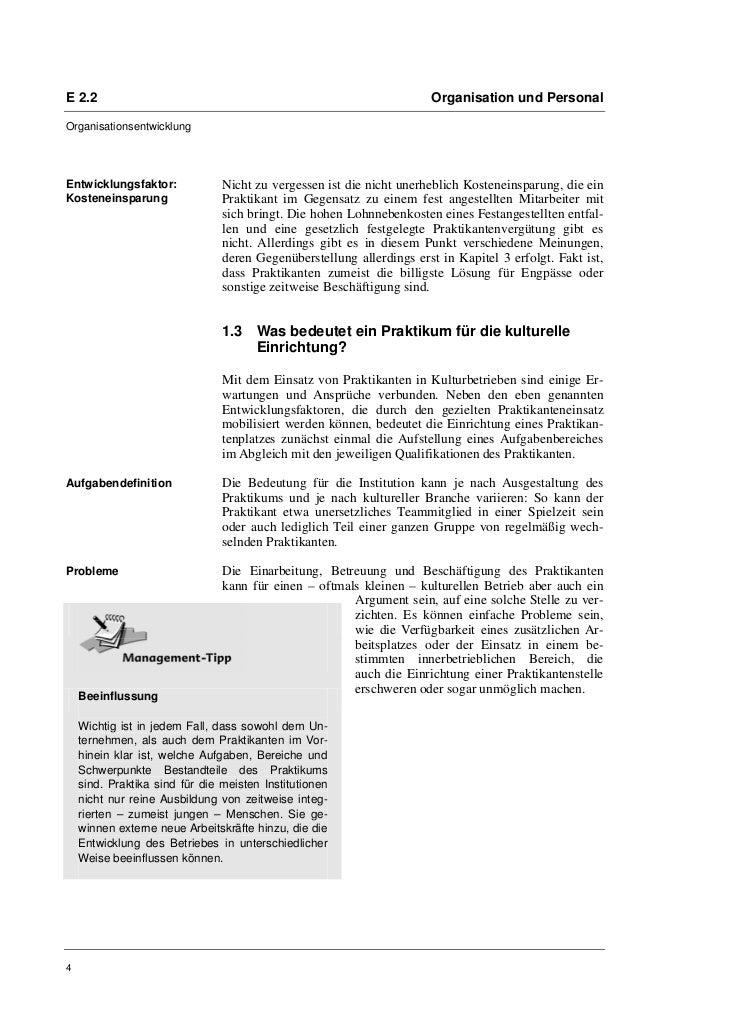 E 2.2                                                                 Organisation und PersonalOrganisationsentwicklungEnt...