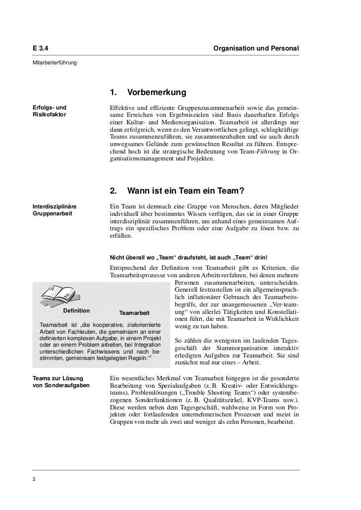 """Sven Bemmé: """"Wir sind ein Team – oder nicht?"""" Teamführung in Kultur- und Medieneinrichtungen Slide 2"""