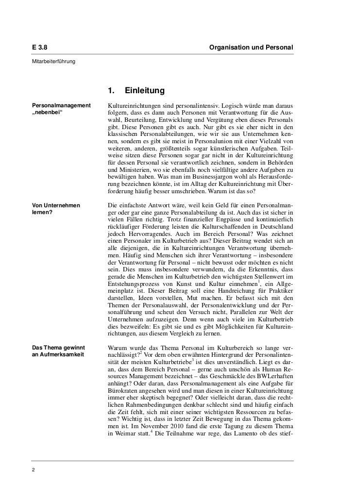 """Prof. Dr. Raphaela Henze: """"Personalmanagement im Kulturbetrieb Eine Handreichung für Praktiker"""" Slide 2"""
