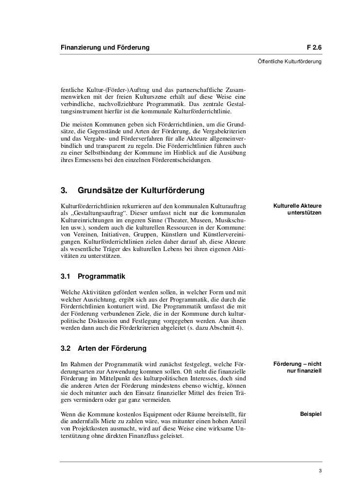 Annika Trockel, Prof. Dr. Oliver Scheytt: Förderrichtlinien und Förderverfahren Slide 3