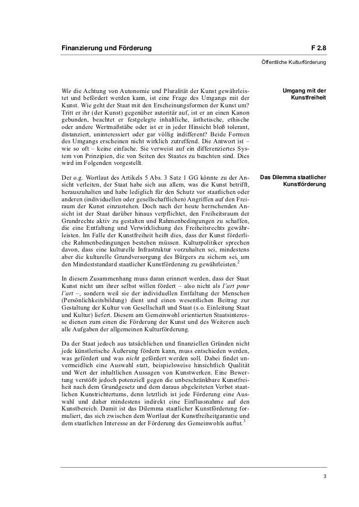 Dr. Eckhard Braun: Prinzipien staatlicher Kunstförderung Slide 3
