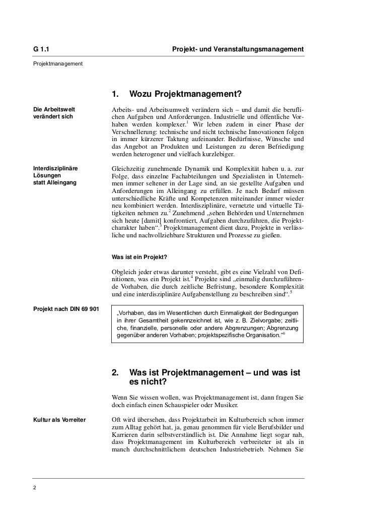 Sven-Oliver Bemmé: Kulturprojekte erfolgreich managen Slide 2