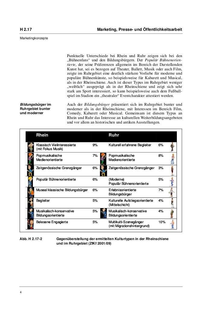 H 2.17                                         Marketing, Presse- und ÖffentlichkeitsarbeitMarketingkonzepte              ...