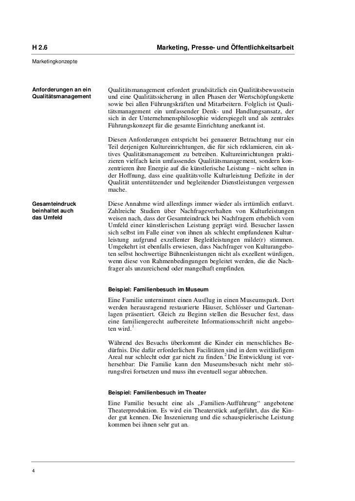 H 2.6                                    Marketing, Presse- und ÖffentlichkeitsarbeitMarketingkonzepteAnforderungen an ein...