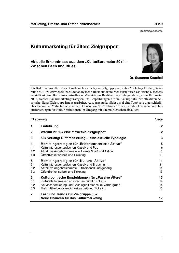 Marketing, Presse- und Öffentlichkeitsarbeit                                                   H 2.9                      ...