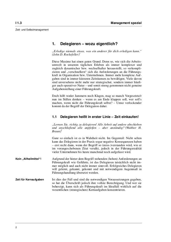 Sven-Oliver Bemmé: Erfolgreich delegieren im Kultur- und Medienmanagement-Alltag Slide 2