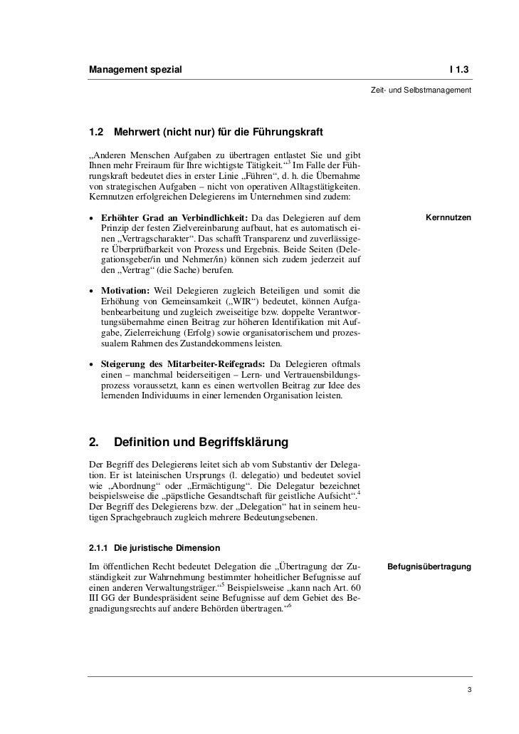 Sven-Oliver Bemmé: Erfolgreich delegieren im Kultur- und Medienmanagement-Alltag Slide 3