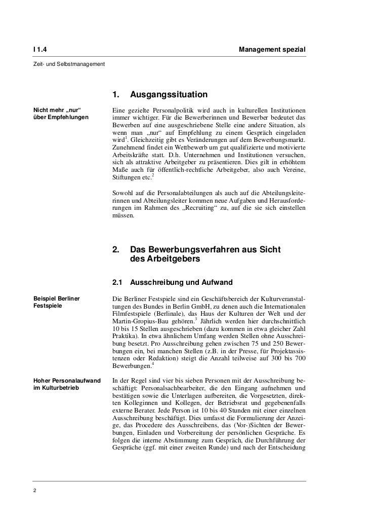 """Kerstin Schilling: Bewerbungen in der Kultur. Ein Blick von der """"ande…"""